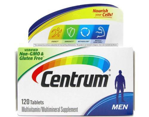 سنتروم للرجال Centrum Men 120 tab