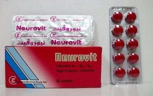 سعر برشام نيوروفيت NEUROVIT 30 SUGAR C.TABS.