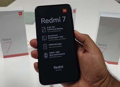 سعر هاتف شاومي ريدمي 7 Xiaomi Redmi 7 price