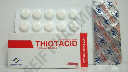سعر ثيوتاسيد 300 حبوب THIOTACID 300MG 30 TAB.