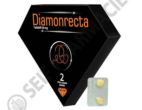 حبوب ديامونركتا DIAMONRECTA 20 MG 2 F.C. TAB.