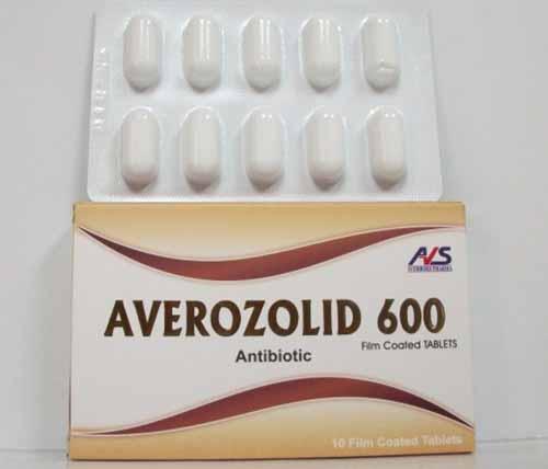سعر افيروزوليد برشام AVEROZOLID 600 MG 10 TAB.