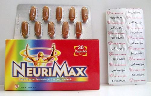 نيوريماكس كبسولات NEURIMAX 30 CAPS.