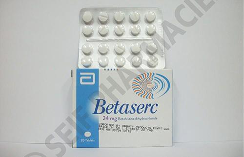 سعر بيتاسيرك ٢٤ مجم BETASERC 24 MG 40 TABS.